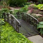 metal bridge for home garden