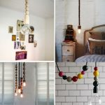 Awesome Fabric Cord Covers For Stylish Hanging Lamp