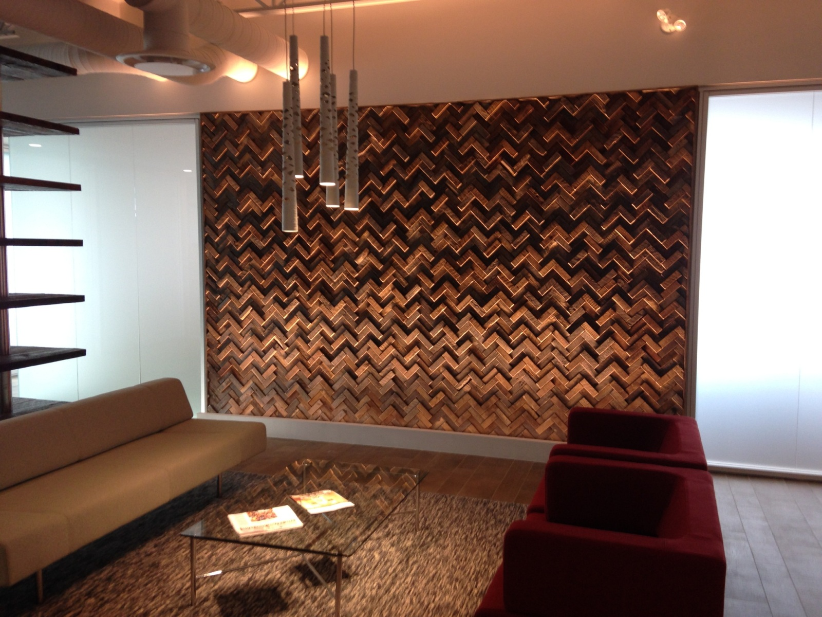 Unique wood wall covering ideas homesfeed for Feature wall interior design