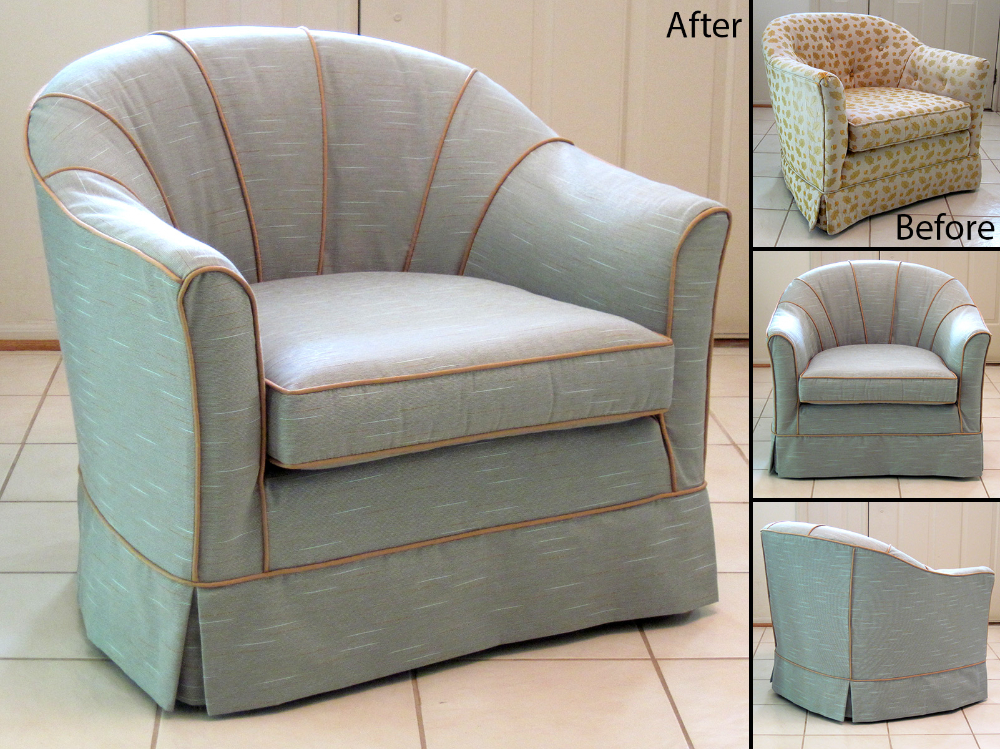 Simple Barrel Chair Slipcovers – HomesFeed