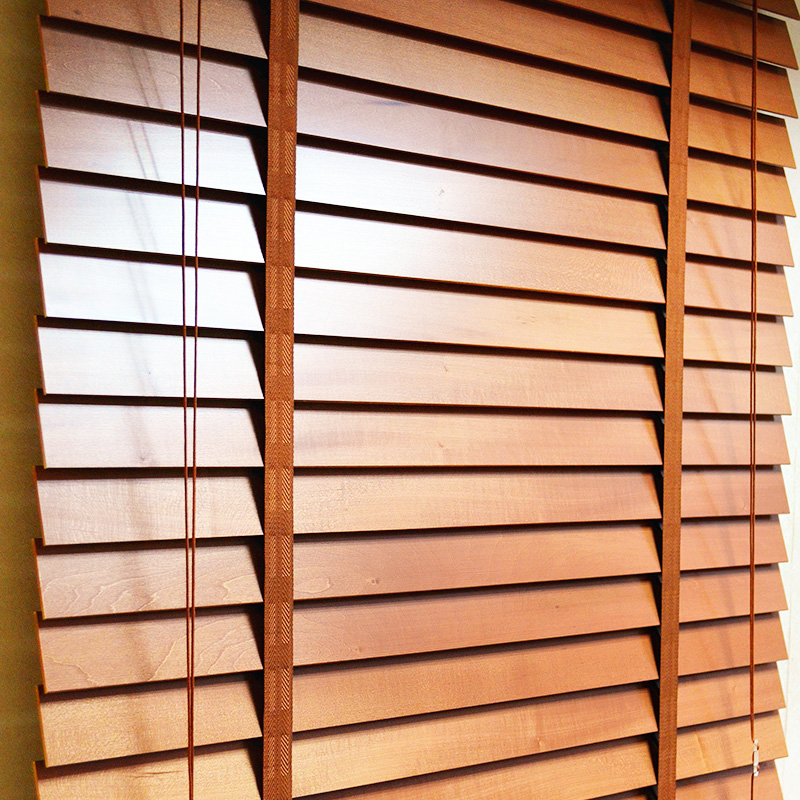 Ikea Bamboo Blinds on Modern Office Interior Design