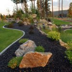 Black Lave Large Rocks For Landscaping