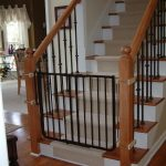 Black Wrought Iron Child Safety Gates For Stairs