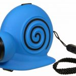 Blue Black Flashlights For Kids With Snail Shape