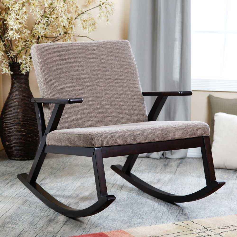 Modern rocking chair for nursery homesfeed for Nursing rocking chair design
