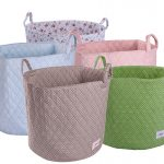 Colorful And Patterned Extra Large Storage Baskets