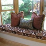 Cool Patterned Of Cushions For Window Seats With Triple Pretty Pillows