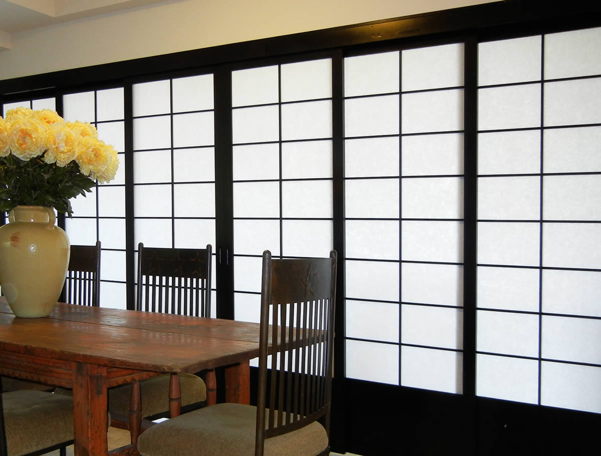 Lovely shoji screen ikea homesfeed for Sliding walls and doors