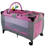 Cot Bed Baby Bed Pink Color