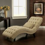 Cream Lounge As Reading Chair With Pillow