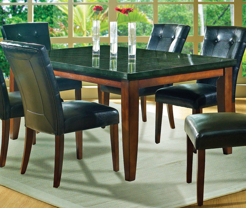Granite Dining Table Set: Beautiful Granite Dining Table Set