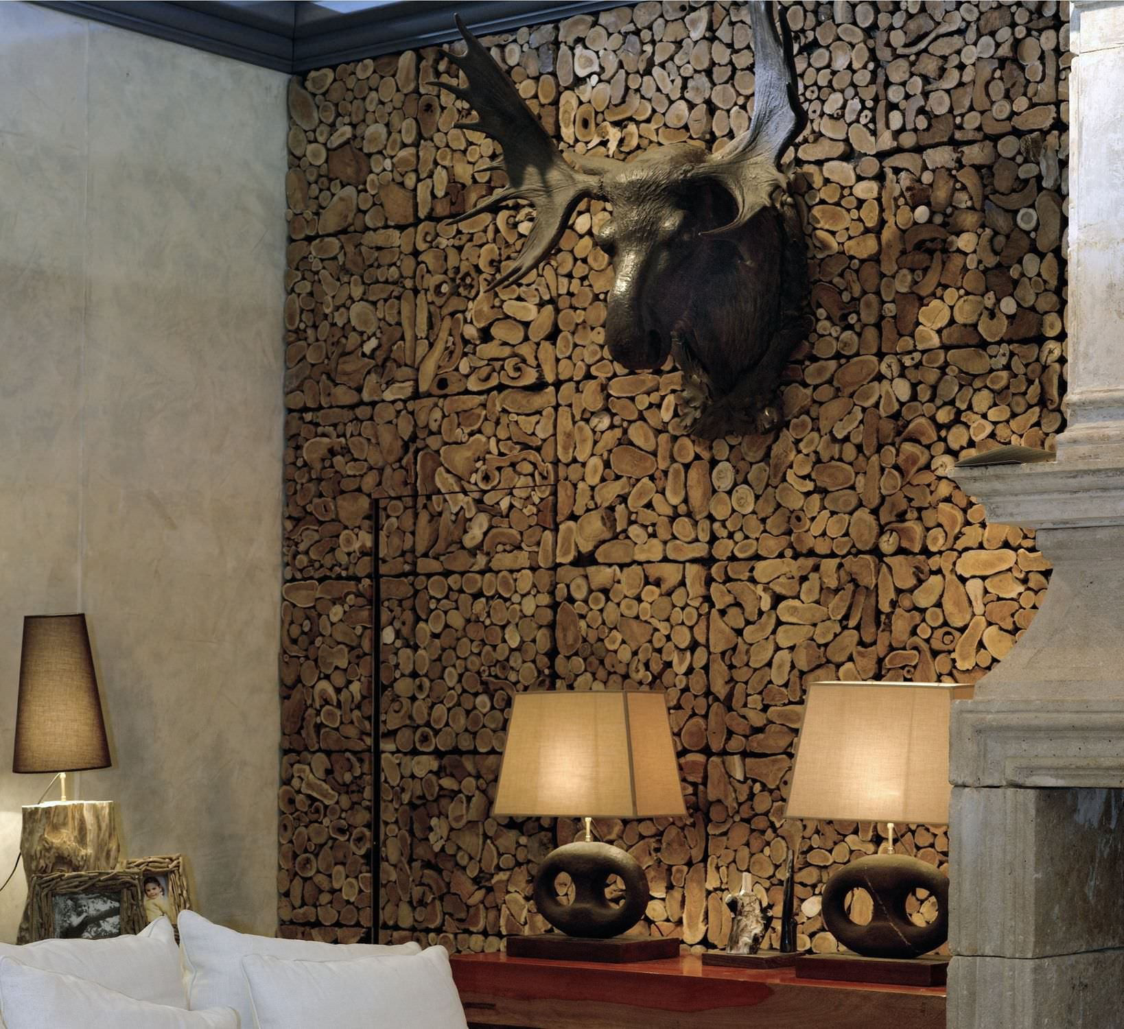 unique wood wall covering ideas | homesfeed