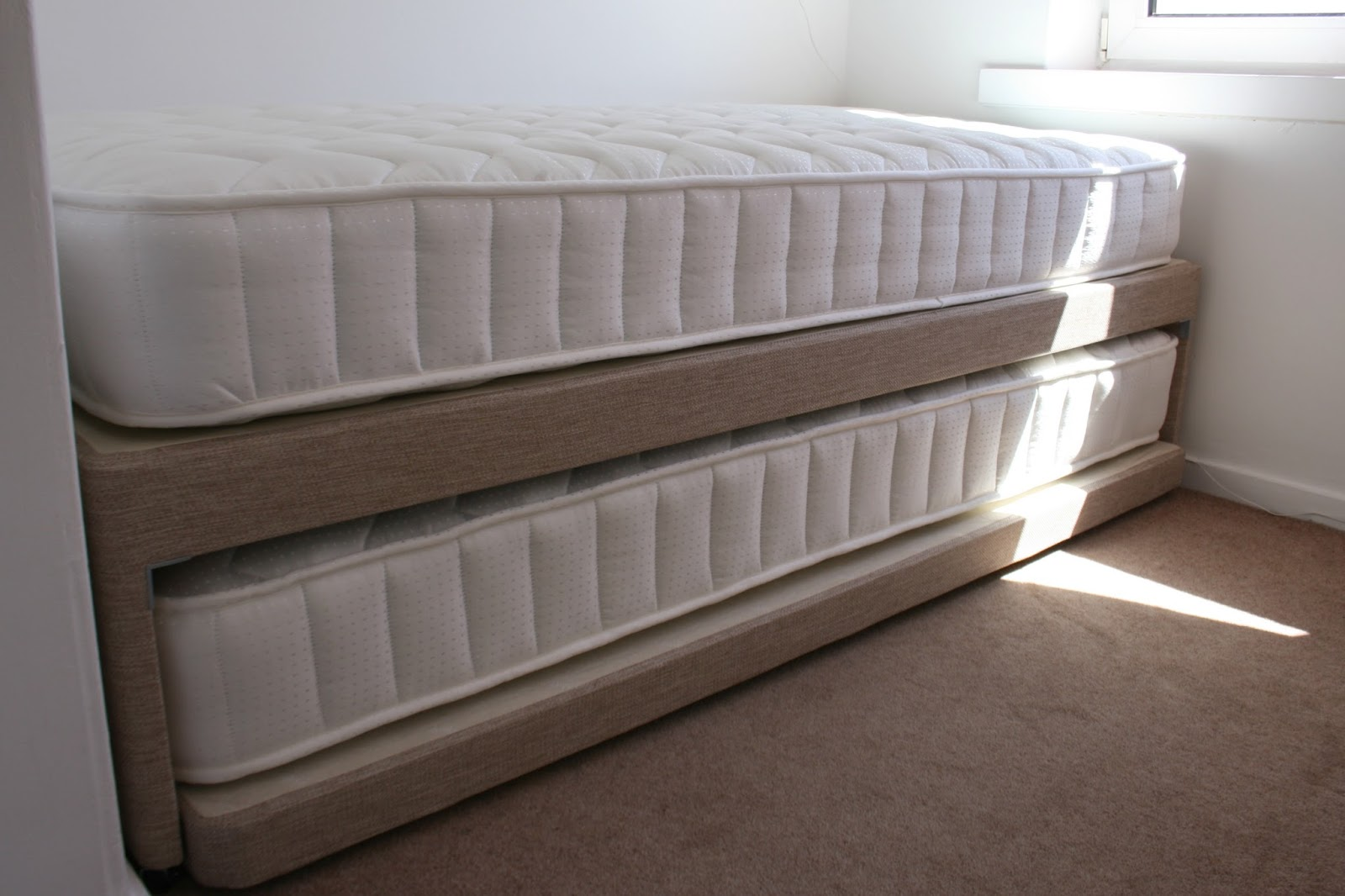 Small double storage bed with mattress sweet dreams for Double bed with storage and mattress