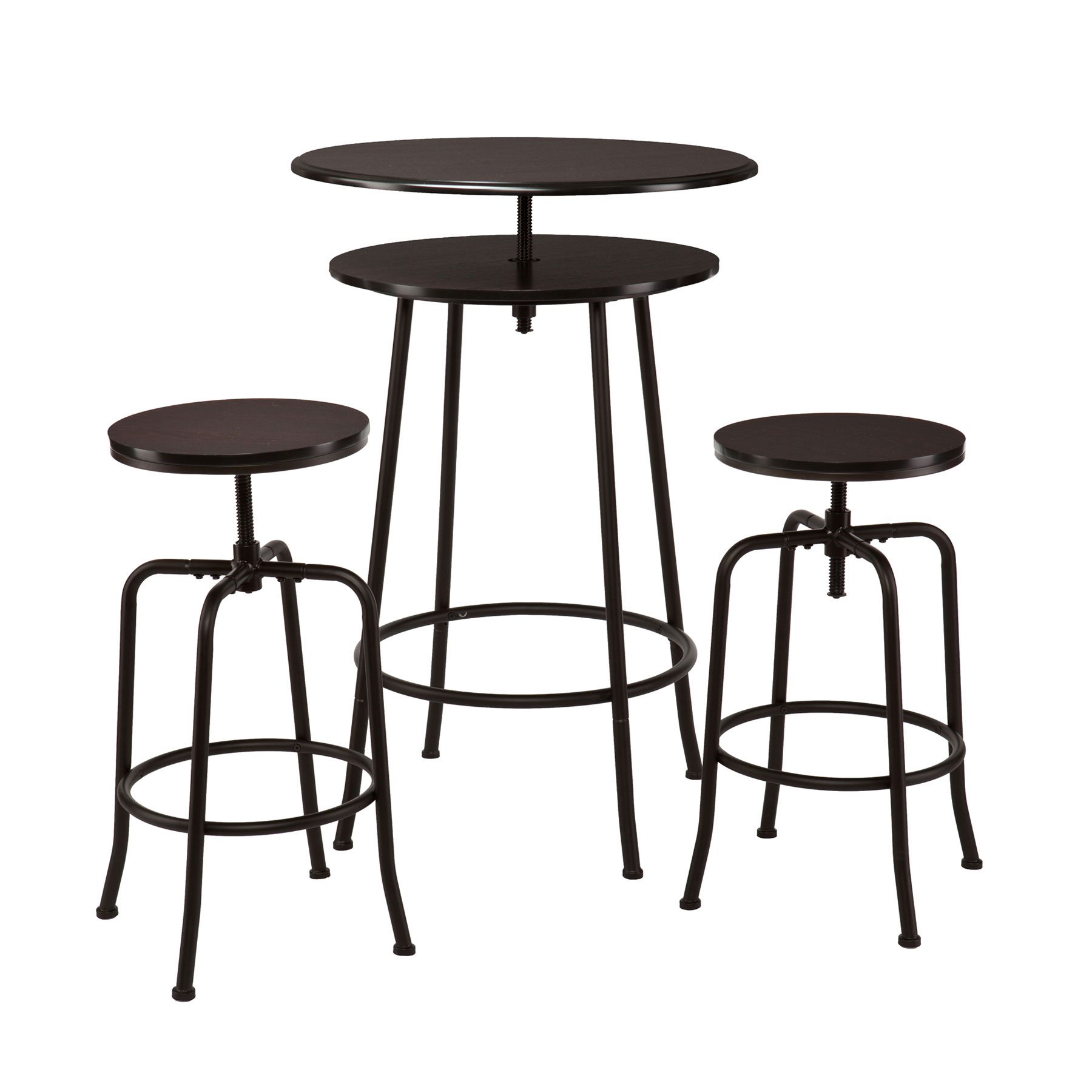 perfect double surface of round industrial pub table with the same chair design with industrial bar table.  sc 1 st  dossinsurance.com & Industrial Bar Table. Great Industrial With Industrial Bar Table ...