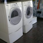 Double Used Apartment Size Washer And Dryer