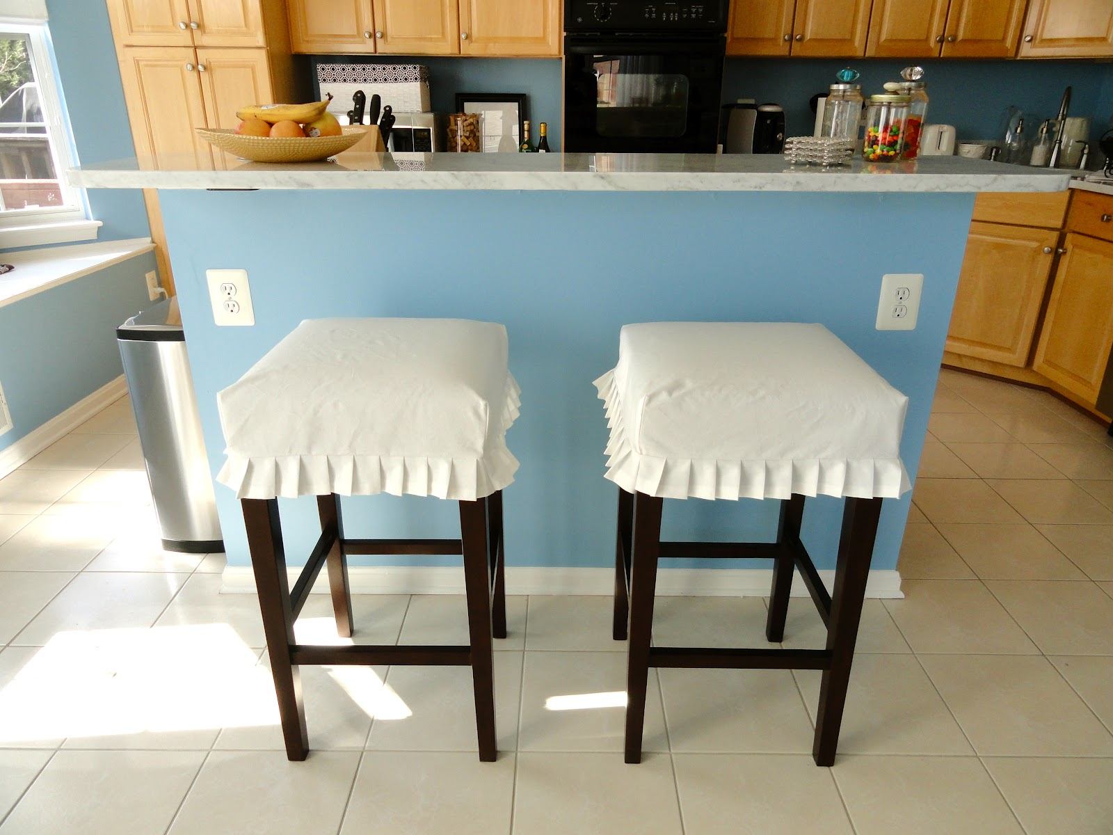 Bar Stool Slipcovers | HomesFeed