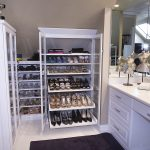 Elegant Closet Lighting Fixtures In White Room