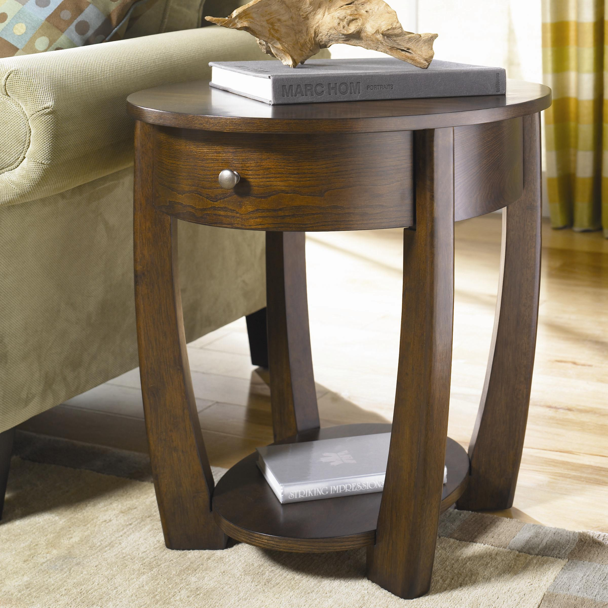 perfect small end table with drawer homesfeed. Black Bedroom Furniture Sets. Home Design Ideas