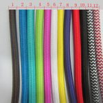 Fabric Cord Covers With Different Colors Option