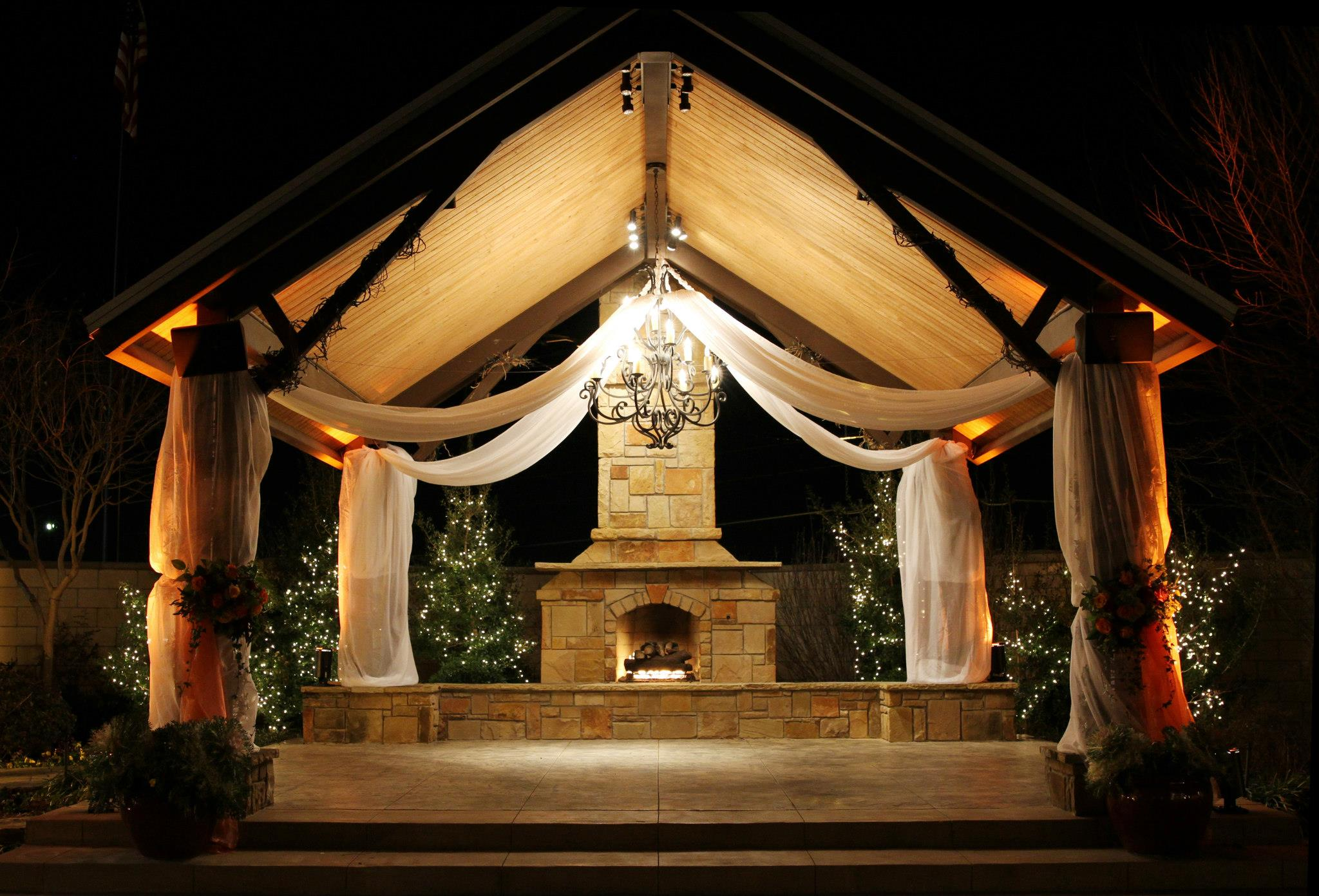 Beautiful Outdoor Gazebo Lighting