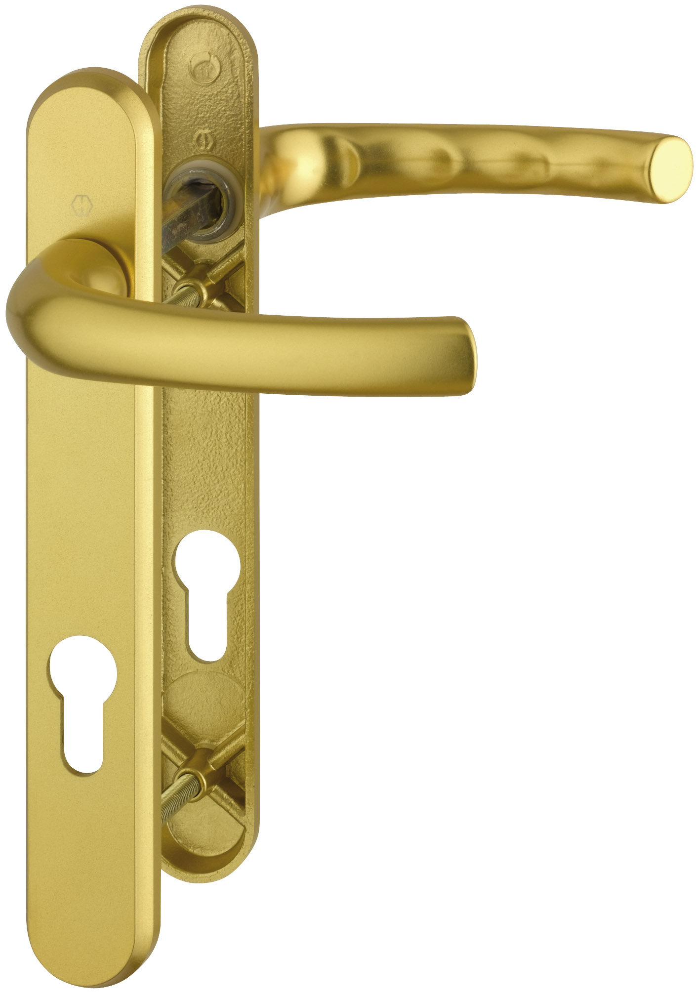 Gold And Long Shaped Of Door Handle
