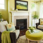 Green Yellow Fresh Top Rated Interior Paint For Living Room With Fireplace Chairs Round Ottoman And Rug