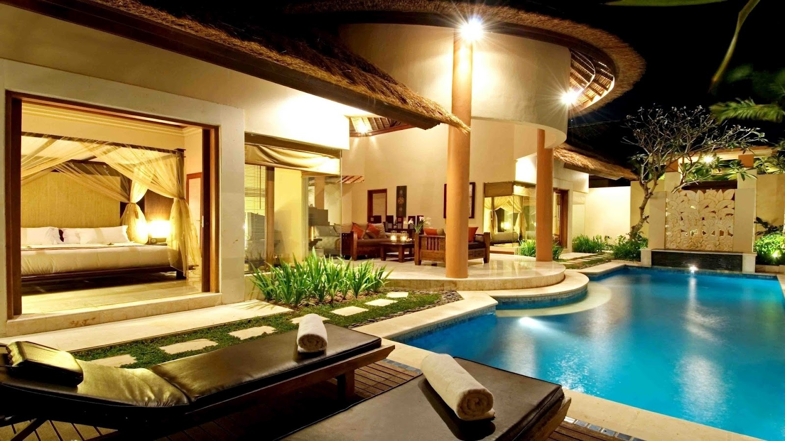 House With Swiiming Pool Best Design Build My Dream House Design Ideas