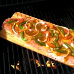 King Salmon On Cedar Planks For Grilling