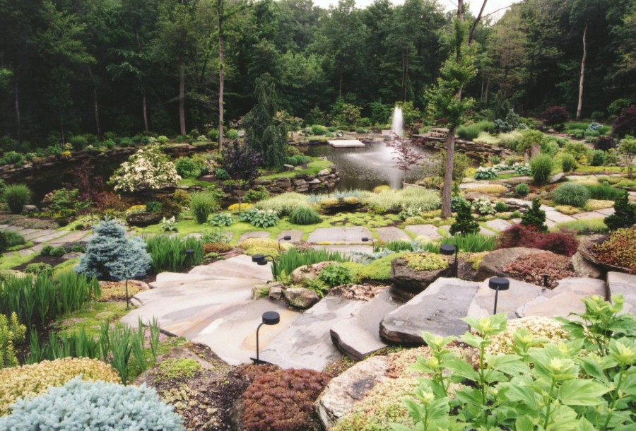 Natural large rocks for landscaping homesfeed for Large bushes for landscaping