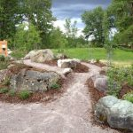 Large Rocks For Landscaping With Awesome Pathways Design