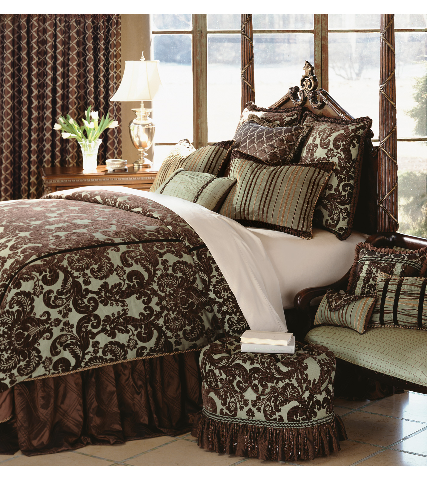 High end linens homesfeed for Designer bed