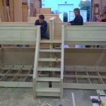 Making Process Of Quadruple Bunk Beds