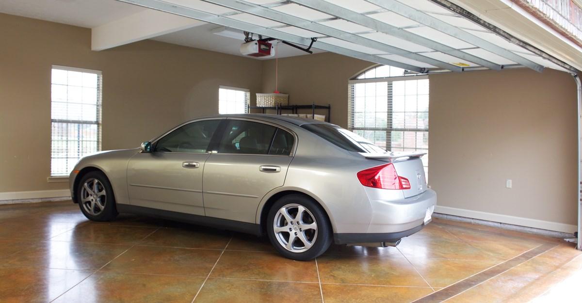 Best garage finishing ideas homesfeed for Garage sprint auto stains