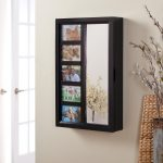 Mirrored Hanging Jewelry Armoire