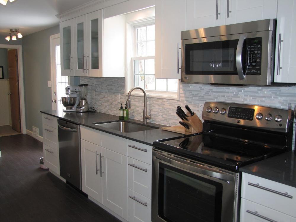 modern ikea stainless steel backsplash homesfeed more kitchen storage without drilling into tile backsplash