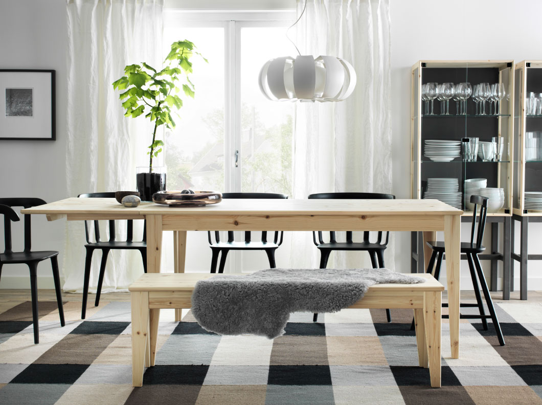 Good Ikea Stockholm Dining Table | HomesFeed