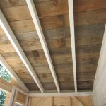 Old Classic Style Of Wood Ceiling Planks
