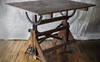 Old Fashioned Drafting Table