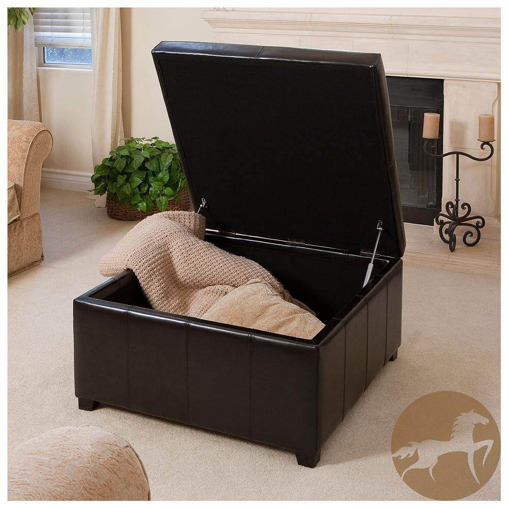 Ordinaire Perfect Large Square Storage Ottoman