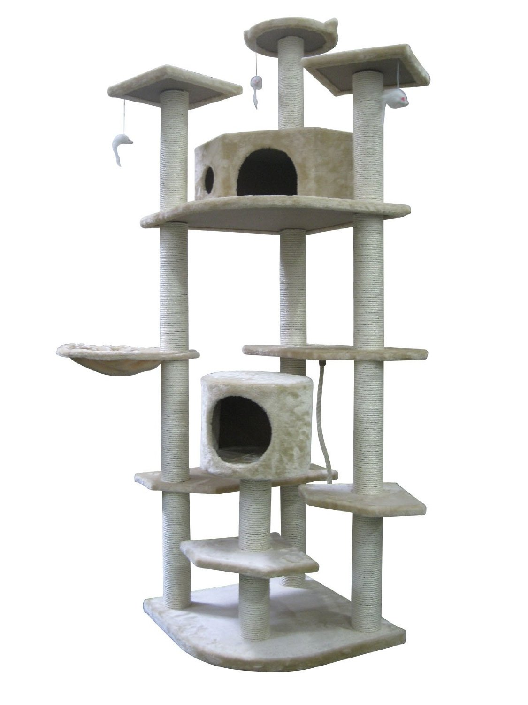 unique tall cat trees homesfeed. Black Bedroom Furniture Sets. Home Design Ideas