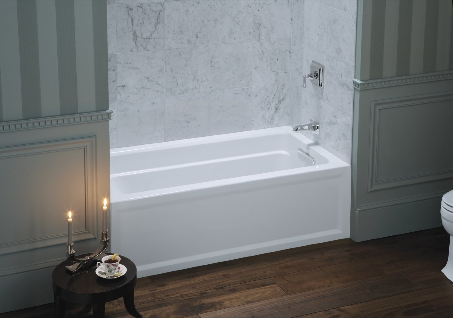 Unique japanese soaking tub kohler homesfeed - Soaking tubs for small bathrooms ...