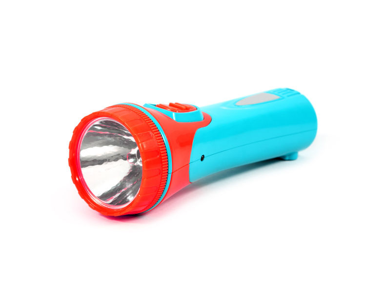 Red And Turquoise Flashlights For Kids