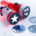 Red Star Design Of Flashlights For Kids