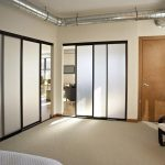 Room Dividers Of Wall Partitions Ikea With White Bed And Wooden Door