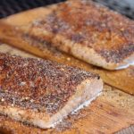Salmon With Cedar Planks For Grilling