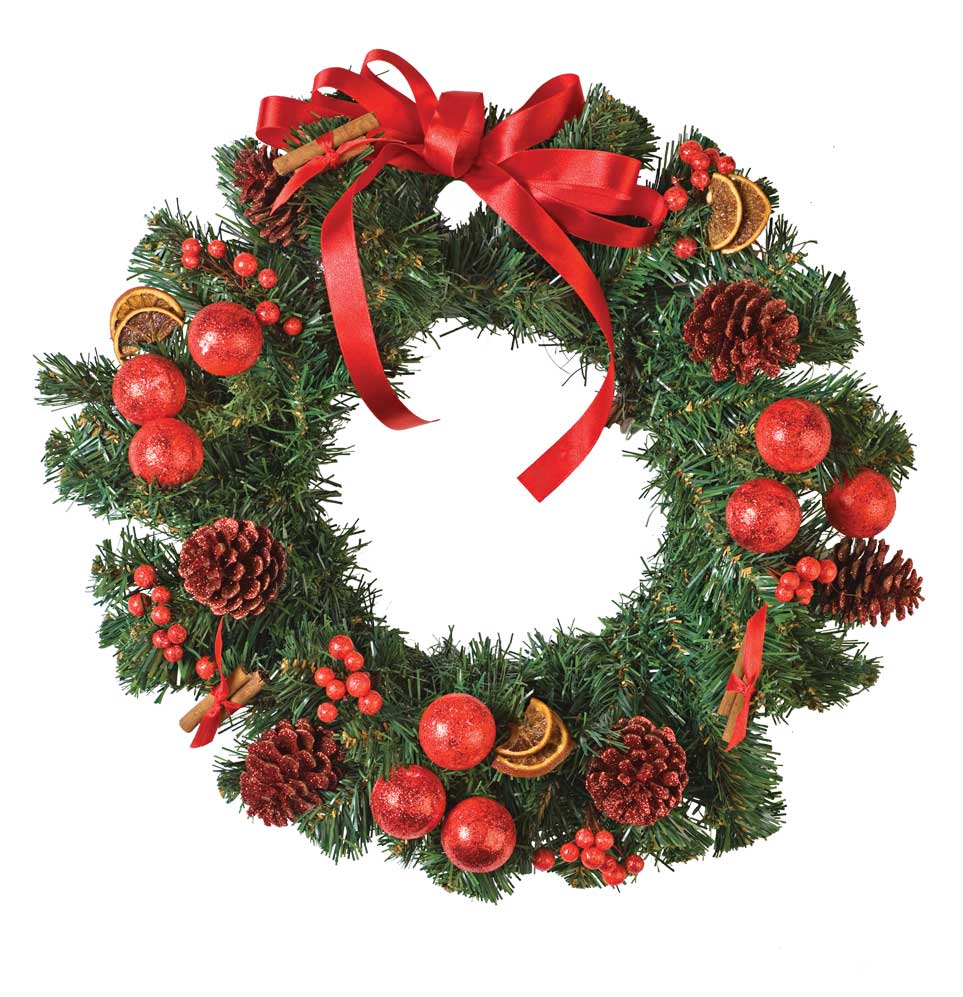 Beautiful pictures of christmas wreaths homesfeed Simple christmas wreaths