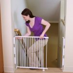Simple White Child Safety Gates For Stairs