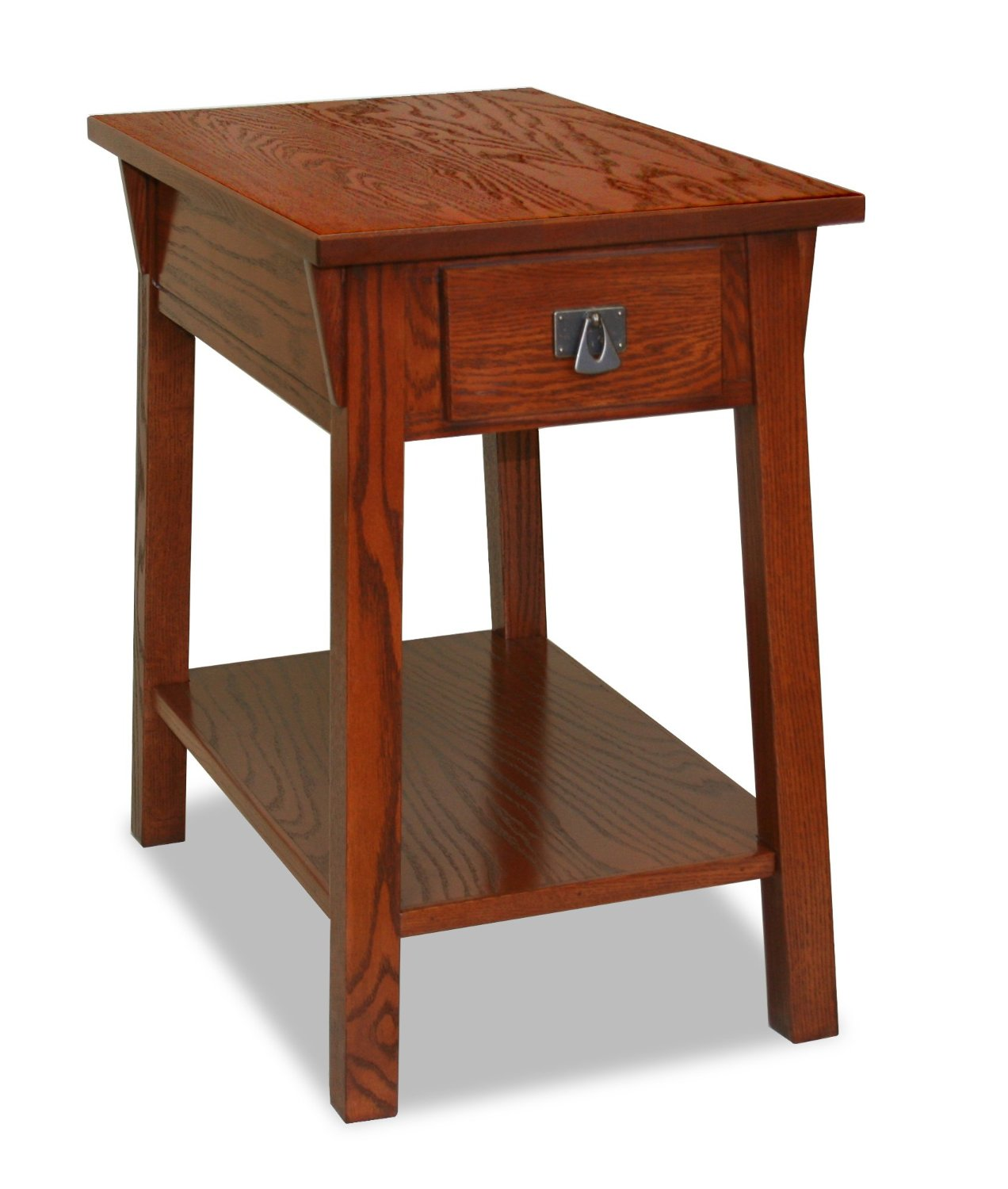 Perfect small end table with drawer homesfeed for Small wood end table