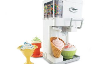 Soft Serve Ice Cream Machine For Home With Toping