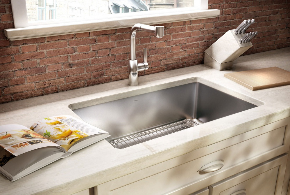 Best Material For Kitchen Sink | HomesFeed